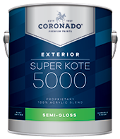 Inland Paint & Design Center Super Kote 5000 Exterior is designed to cover fully and dry quickly while leaving lasting protection against weathering. Formerly known as Supreme House Paint, Super Kote 5000 Exterior delivers outstanding commercial service.boom
